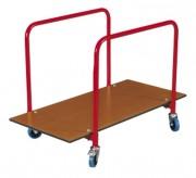Chariot de transport pour plancher de praticable