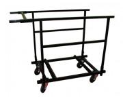 Chariot de transport pour tables rondes - Pour 6 tables rondes Ø 150 cm ou Ø 180 cm