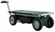 Chariot de transport électrique - Capacité de charge : 1300 Kg - Hauteur levage : 900 mm
