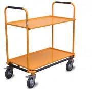 Chariot desserte 2 plateaux - Charge admissible de 100 kg