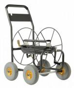 Chariot dévidoir acier - Dévidoir 4 roues (110 m en diam 19 mm)