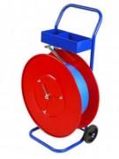 Chariot dévidoir pour feuillard - Equipé de 2 roulettes