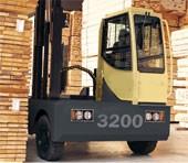 Chariot diesel latéral pour l'extérieur