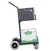 Chariot distribution courrier à 2 paniers - Charge admissible : 70 kg