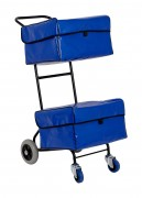 Chariot distribution courrier à paniers - Pratique et facile à manier