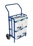 Chariot distribution journaux publicité - Ensemble tubulaire diamètre 20 mm mécano-soudé