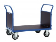 Chariot double ridelles - Charge (kg) : 1200