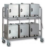 Chariot échelle pour caissons thermiques - Chariot à deux étages