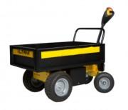 Chariot électrique de manutention à timon basculant - Dimensions plateau :740 x 1145 x 250 mm