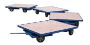 Chariot électrique monotrace - Capacité : 2000 Kg - Double essieux directeurs