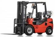 Chariot élévateur à grande capacité - Capacité : 2500 kg   -  Hauteur de levée : 4800 mm