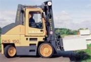 Chariot élévateur de manutention gaz 12000 kg - GKS-120