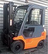 Chariot élévateur diesel duplex - D'occasion - Capacité : 1800 Kg - H. de levée : 3300 mm