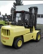 Chariot élévateur diesel hyster - Hauteur de levage (m) : 4.5