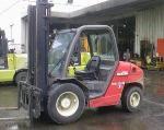 Chariot élévateur diesel Manitou levée 3.7 métres - Hauteur de levage (m) : 3.7