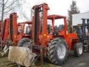 Chariot elevateur diesel occasion 2500 kg - Hauteur de levage : 5.4 m