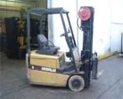 Chariot élévateur électrique levée 6.1 m - Hauteur de levage (m) : 6.1