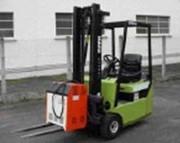 Chariot elevateur electrique occasion 1000 kg - Hauteur de levage : 3.3 m