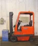Chariot élevateur Fenwick électrique - Hauteur de lavage (m) : 3.3