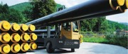 Chariot élévateur latéral diesel