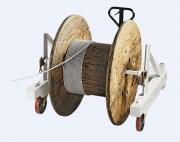 Chariot élévateur porte touret - Transport et élévation de tourets – 3 modèles disponibles