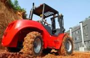 Chariot elevateur tout terrain - Diesel - Capacité : 5000 Kg - Hauteur de levée : 3500 mm