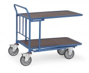 Chariot emboîtable - Charge (kg) : 400 - 500 / Norme Européenne EN 1757-3
