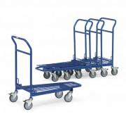 Chariot emboîtable à roues pivotantes - Charge (Kg) : 300