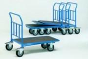 Chariot emboîtable pivotant - Charge (kg) : 400 ou 500