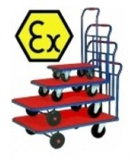 Chariot en acier Atex