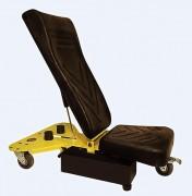 Chariot garagiste ergonomique - En acier - 3 roulettes
