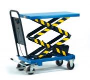 Chariot hydraulique à plate-forme élévatrice - Charge : 300 - 500 Kg