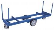 Chariot industriel pour charges longues - Capacité de charge : 2000 ou 3000 kg