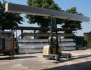 Chariot latéral LPG Chariot latéral LPG pour intérieur et extérieur 4000 Kg - DQ40-G  -  serie : 3050