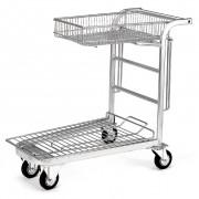 Chariot libre service jardinerie - Dimensions (HxLxl) mm : 950 x 1080 x 580