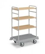 Chariot Linge Complet pour hôtel - Dimensions chariot (L x l x H) cm :  85 x 53 x 127