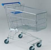Chariot magasin libre service - Volume du panier : 240 L