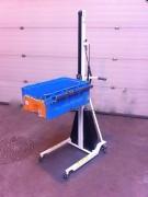 Chariot manipulateur électrique 80 Kg - Hauteur levage maxi (mm) : 1500