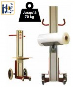 Chariot manipulateur électrique - Charge maximale : 70kg
