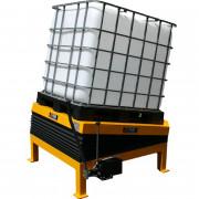 Chariot manipulateur pour fûts et bobines - Inclinateur de 0° à 15°