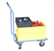 Chariot manutention bacs plastiques - Charge utile (Kg) : 200