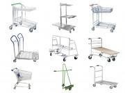 Chariot manutention libre service - Gamme de chariots libre-service adaptés pour tous types de magasins