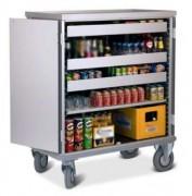 Chariot mini bar à porte rabattables - Existe en plusieurs dimensions