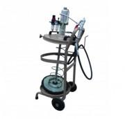 Chariot mobile de graissage - Débit : 1200 g/min