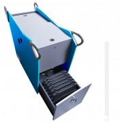 Chariot mobile modulable pour 26 PC - Fabriqué en France