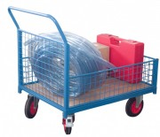 Chariot modulaire à caisse grillagée - Charge : 500 Kg