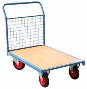 Chariot modulaire à dossier grillagé - Charge utile (Kg) : 500