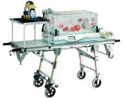 Chariot monobloc pédiatrique - Dimensions(L x l x H) cm 190.70 x 56.80 x 83.80