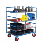 Chariot multi plateaux - Charge utile : 500 Kg