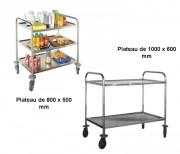 Chariot multi-usages 80 Kg - Charge maximale par plateau : 80 kg